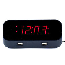 Bush Baby 1080P HD No Pinhole Alarm Clock Hidden Nanny Camera