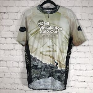Voler Mens Cycling Jersey X Large 2009 Mt Washington Hill Climb