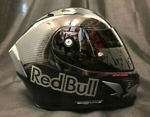X-lite X803 Carbon Glänzend 2021 Red Bull Aufkleber Gratis Dark Viesier Helm