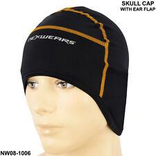 Cycling Skull Cap Bike Motorbike Under Helmet Hat Ear Cover Thermal Windstopper