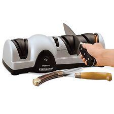 Electric Global Serrated Self Sharpening Knife Sharpener Kit Belt As Seen On TV