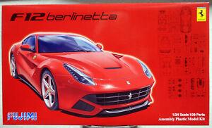 Fujimi 125626 2012 Ferrari F12 Berlinetta 1:24