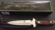 Frost Cutlery Double Edge Fixed Blade Boot Scootin'  Dagger I NIB