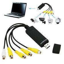 Cámara De Seguridad USB 2.0 4 canales DVR Video Audio Cctv Tarjeta de captura de adaptador