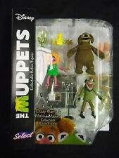"MUPPETS SELECT ACTION FIGURES SERIES 3 ""ROWLF / CRAZY HARRY / MAHNA MAHNA"" (DIAM"