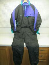 VTG COLUMBIA SIZE EXTRA LARGE MEN'S ONE PIECE SNOW SUIT BIB SNOW SKI 90's