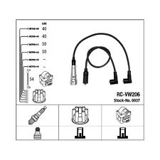 Cables bujia encendido NGK0937 - RC-VW206 - Ignition cable kit - SEAT IBIZA II