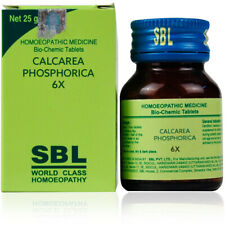 SBL Calcarea Phosphoricum 6X (25g) Joint pains Weakness Free Shipping US