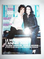 Magazine mode fashion ELLE French #2868 18 décembre 2000