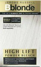 2 x Jerome Russell Bblonde - Powder Bleach Maximum Blonde 4x25g Strong Lightener