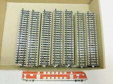 az885-2 #35x MÄRKLIN H0/AC 5106 Vía / piezas de vía ( M PISTA ) recto, MUY BUEN