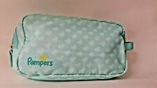 Pampers Hearts travel pouch multicolored bag for diaper, wipes etc