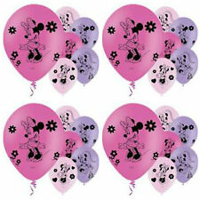 Minnie mouse party balloons - 6 pack
