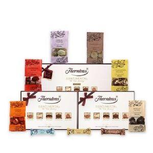 Thorntons Chocolates Continental Boxes 142g, 284g Milk,Dark&White & 284g Dark