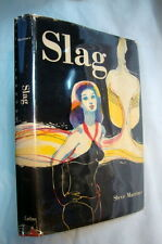Slag by Steve Marriner 1968 signed presentation copy by the author