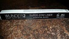 WUNDER2 SUPER-STAY LINER - Long-Lasting & Waterproof Black Eyeliner  (FREE GIFT)