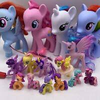 Hasbro My Little Pony Lot of 15 Ponies 2000's See Description Girl Toy Play