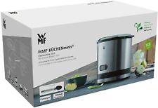 WMF KÜCHENminis Eismaschine 3in1 für Joghurt, Sorbet und Eiscreme, 12Watt
