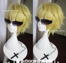 Nintendo The Legend of Zelda Link cosplay wig short blonde hair Halloween wigs