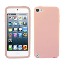 For Apple iPod touch (5th generation) Solid Skin Case Cover (Pink)