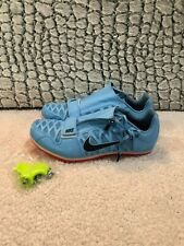 NEW* New Mens Nike Zoom LJ 4 Long Jump Track Spikes Light Blue 415339-446 MULTI