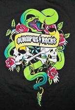 OLYMPUS ROCKS / HARD ROCK HOTEL LAS VEGAS 2013 TOUR DATES / T-SHIRT BLACK  XL
