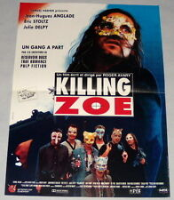 KiLLiNG ZOE Roger Avary Eric Stoltz Jean-Hugues Anglade SMALL French POSTER