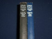 1976 GALACTIC EMPIRES VOLUME 1 & 2 EDITED BY BRIAN ALDISS LOT OF 2 - KD 2644