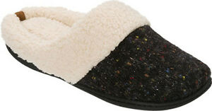 Dearfoams Sparkle Tweed Knit Clog Slipper Wome'n size: Large(9-10)