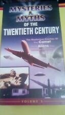 Mysteries & Myths of the Twentieth Century Vol. 5 VHS documentary Comet airplane