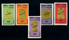 [72392] Paraguay 1966 Olympic Games Mexico Indian Art Imperf. OVP Muestra MNH