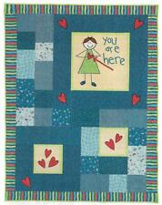 You Are Here Quilt quilting pattern instructions