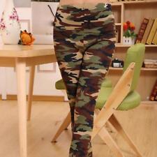 Ejército Camo Camoflage Impreso Diversión Leggings para Mujer One Size UK 8-12