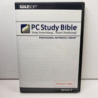 Biblesoft PC Study Bible 5.1 Beta Professional Reference Library - DVDROM - New