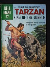 Dell Giant #37, Tarzan, King of the Jungle, 1960, Silver Age, Painted Cover