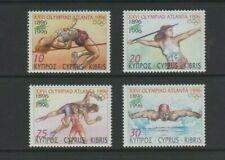 Cyprus 1996 Olympics Mint MNH Set