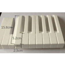 Piano white keys accessories the number of white keys, a piano = 52 pcs