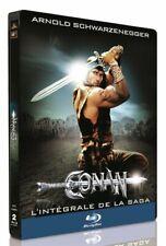 Conan le Barbare + Conan le destructeur boîtier SteelBook blu ray neuf