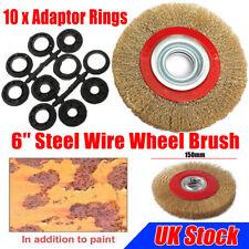 Silverline 228567 Wire Wheel Set 5 Pieces 6 mm Shank