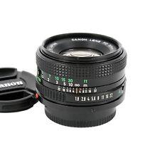 Canon Lens FD 50 mm 1:1,8 adaptierbar an DSLR / Systemkameras
