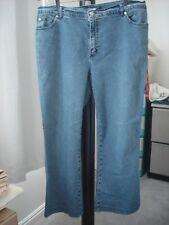 Marina Rinaldi Sport Women's Max Mara Light Blue  Denim Jeans  Size 25/16 US