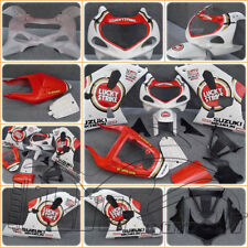 CARENE ABS SUZUKI GSX R 600/750 2003 2001 2002 DESIGN LUCKY STRIKE INIEZIONE