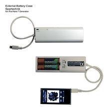 Batteriefach für Apple iPod Nano* 16GB 7. Generation m Lightning 8-Pin Ladegerät