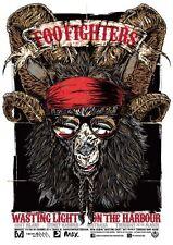 Foo Fighters Sydney Reproducción Tour PÓSTER