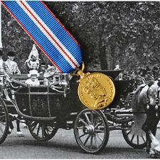 Queen Elizabeth II GOLDEN JUBILEE Medal - MINIATURE - British Made 2002 Award