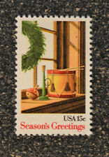 USA1980 #1843 15c Christmas - Seasons Greetings Toys and Wreath -  Mint  NH VF