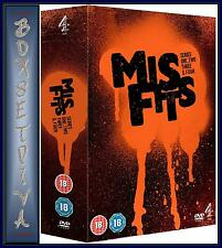 MISFITS - COMPLETE SERIES 1 2 3 & 4  *BRAND NEW DVD BOXSET **