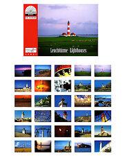 Postkartenbuch Leuchttürme / Lighthouses  30 Postkarten, Postcards NEU!
