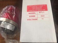 North American Signal Co. ELF1-R Strobe Beacon, Red, New