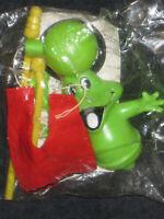 Vintage Freddo Frog 1980's promotional toy Hong Kong showbag show bag Cadbury